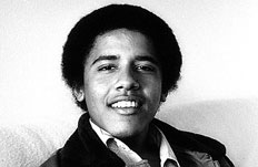Obama was a freshman at Occidental College in Los Angeles photographer named Lisa Jack