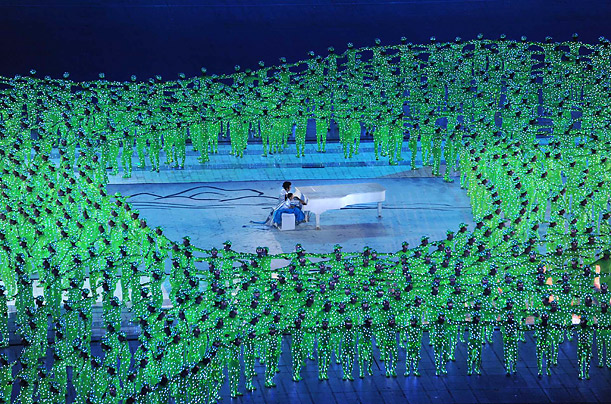 Olympics beijing China 2008 Opening ceremony athletes world USA Russia