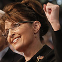 Republican nominee for Vice-President, Alaska Governor Sarah Palin - Photo from Time Magazine