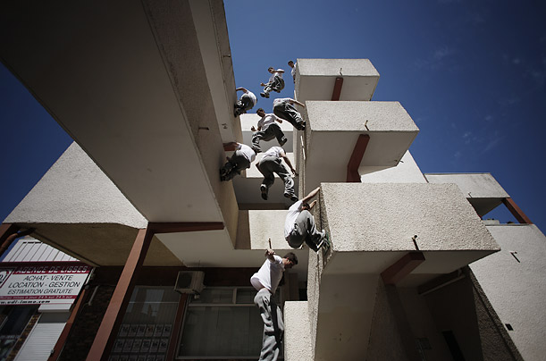 urban adventure Part gymnastics, part tai chi, parkour brings thrills and discipline to