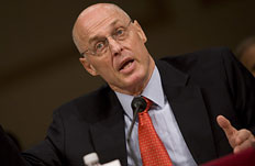 Person of the year 2008 Treasury Secretary Henry Paulson