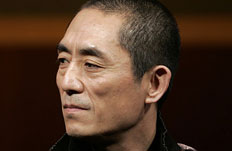 Person of the year 2008 Chinese director Zhang Yimou