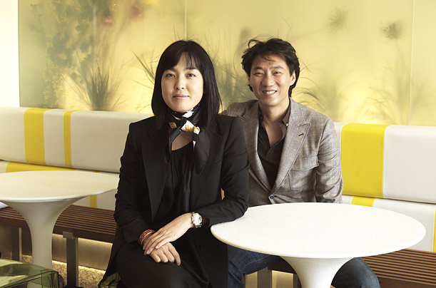 Shelly Hwang and Young Lee, co-founders of Pinkberry