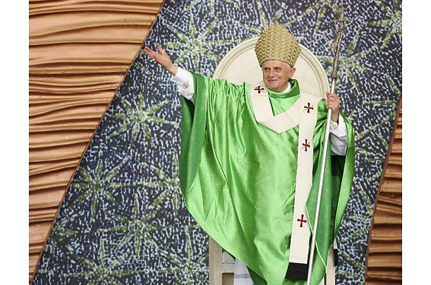 Pope Benedict XVI Style Vestments garb robes clothes color