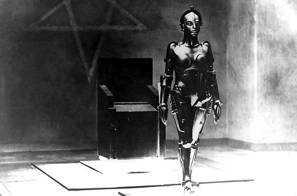 In Fritz Lang's classic silent film, the robot Maria incites a full-scale rebellion in a futuristic dystopian world.