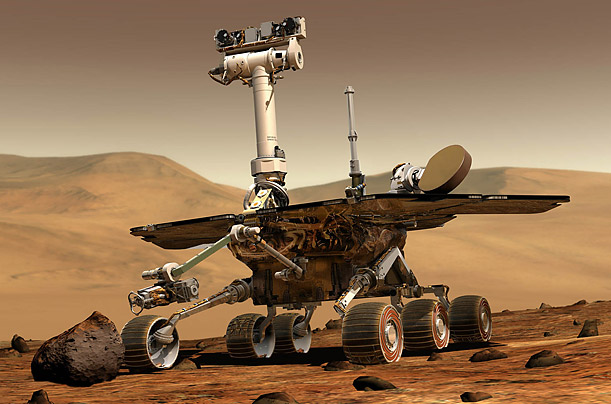 Mars Rovers Celebrate Five Years on the Martian Surface Spirit and Opportunity continue to transmit data after a half decade of service