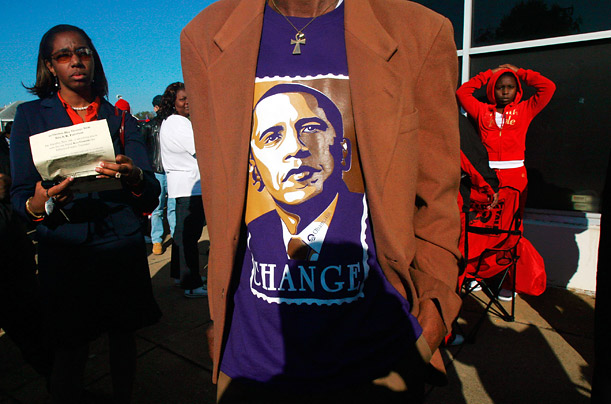 Barack Obama Election 2008 in the Cradle of the Civil Rights Movement Photographer Mario Tama visits Selma and Birmingham as the nation elects its first black American president