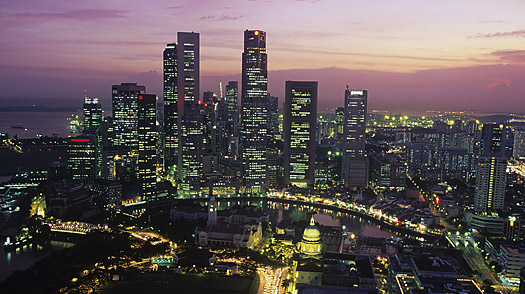 singapore sity skyline