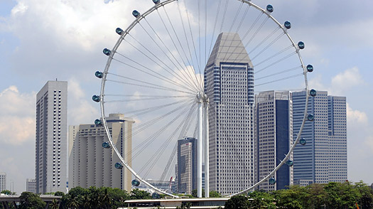 singapore flyer ferris wheel