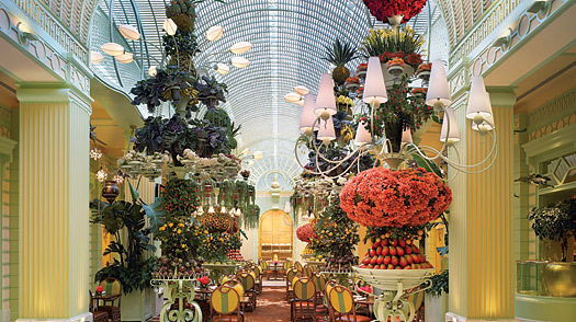 Wynn Buffet, Las Vegas, Nevada.