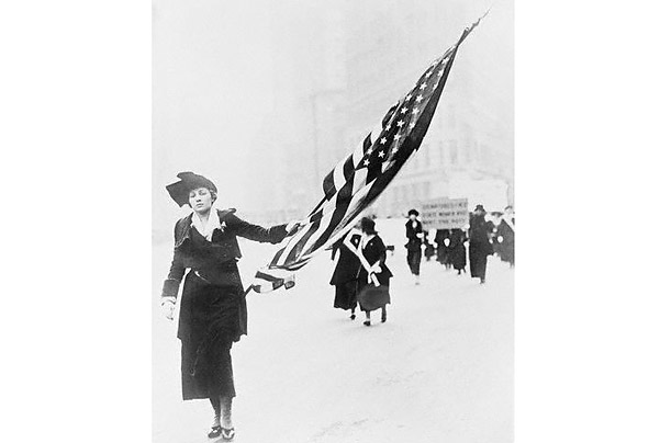 women suffrage movement susan b. anthony right to vote civil rights 19th amendment