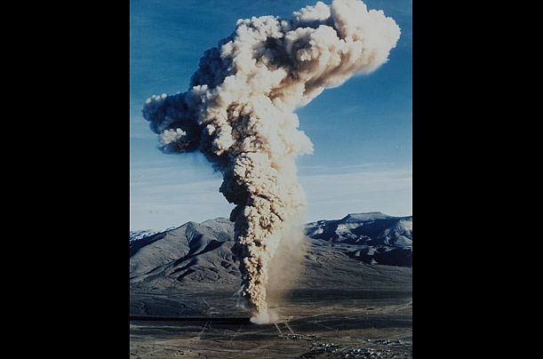 After the Baneberry test, involving the detonation of a 10 kiloton nuclear device underneath Yucca Flat in Nevada