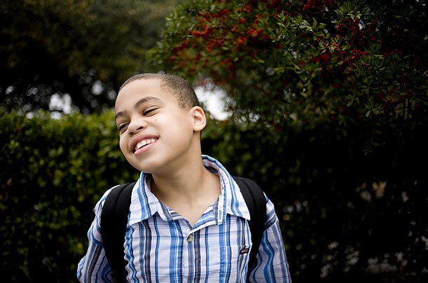 Daniel Tuttle Jr., 14, of Austin, TX, was diagnosed with autism when he was two years old.