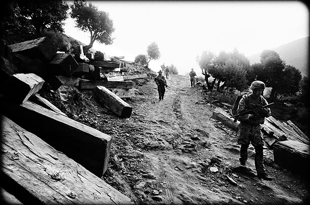 The Battle in Afghanistan's Kunar Province