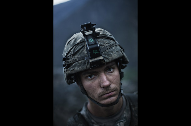 US Troops Brave Afghanistan's Deadly Korengal Valley   Photographer Adam Ferguson embeds with the First Infantry as they battle insurgents in the