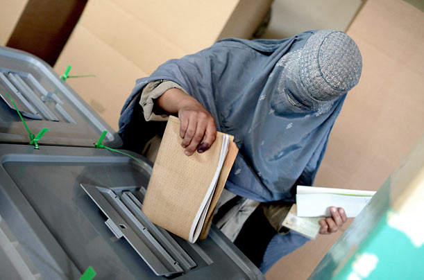 Under threats and violence from the Taliban, Afghans went to the polls in a national presidential election Thursday. While current