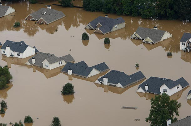 Photos: Floods Overwhelm Georgia