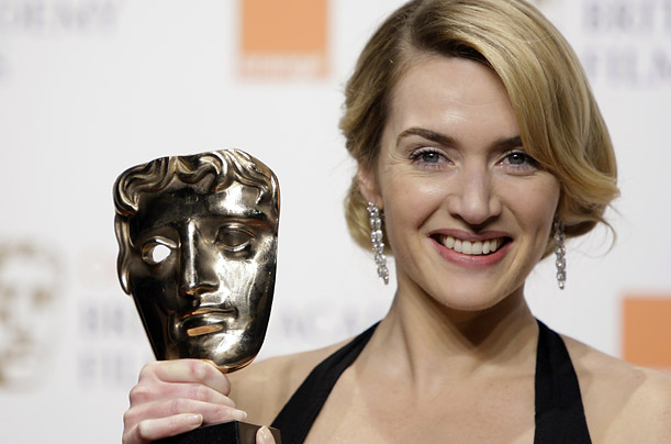 Kate Winslet won the Best Leading Actress award for her role in The Reader