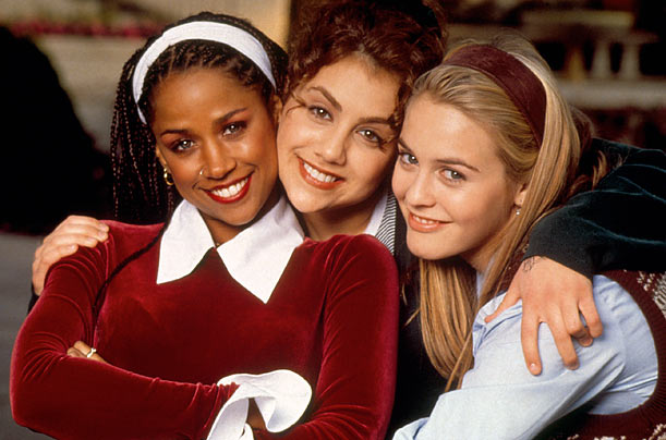 Breakout Role  When she was just 15, Murphy, center, was cast opposite Stacey Dash and Alicia Silverstone in the surprise hit, Clueless