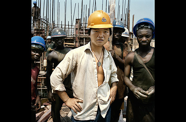 China Comes to Africa trade between China and Africa has mushroomed to over $106 billion. In a new book, La Chinafrique (ital) photographer Paolo Woods explores the economic,