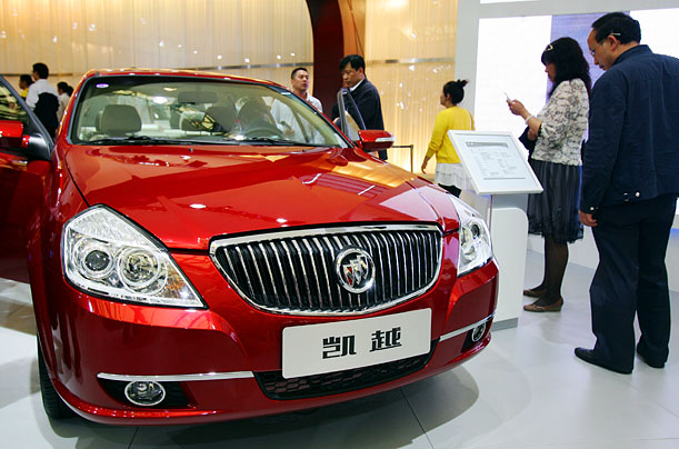 The Buick Excelle is based on a design from GM's South Korean subsidiary