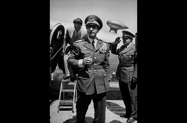 In August 1953, Dulles' CIA subverted the democratically elected but