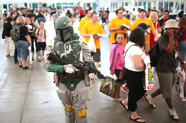 The largest event of its kind in the world, Comic-Con draws thousands of fans to San Diego every year from all over the United States.