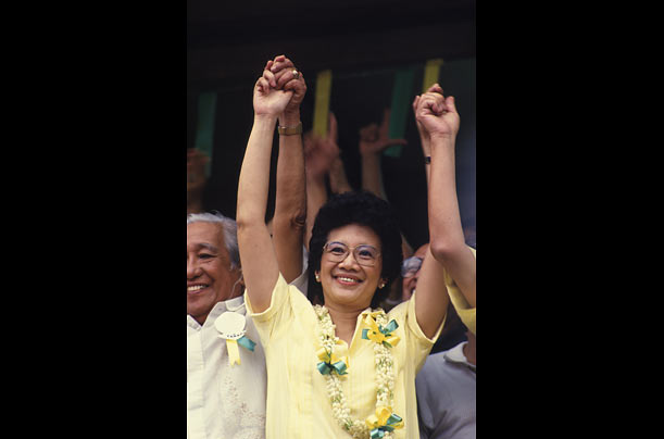 "cory aquino essay Maria corazon ""cory"" sumulong cojuangco aquino (january 25, 1933 – august 1, 2009) was the 11th president of the philippines and the first woman to hold that office."