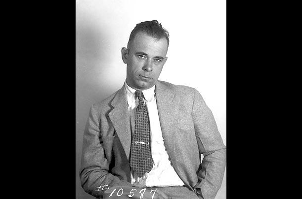 For nine months in 1933 and 1934, John Dillinger and his gang robbed banks across the Midwest, killing 10, wounding seven