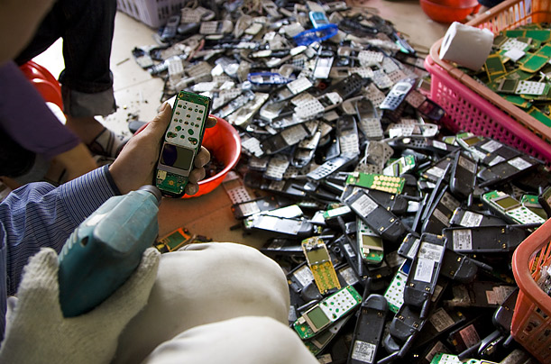 According to Guiyu's own website, the ewaste business generates $75 million a year.