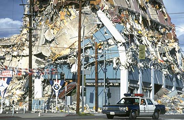 La Earthquake 1994 Causes