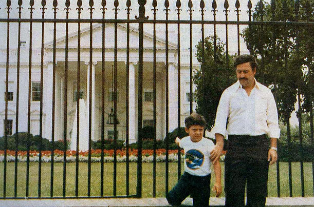 At the Enemy's Gate: Pablo and Juan Pablo In 1982 Escobar, already a power in the cocaine industry, was elected to Colombia's congress, from which he helped undo an extradition treaty with the U.S.