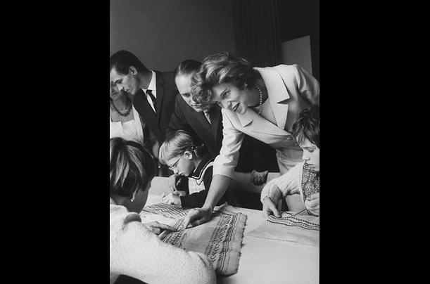 In the 1950s and early '60s, Eunice Kennedy Shriver undertook a tour of institutions for people with intellectual disabilities.