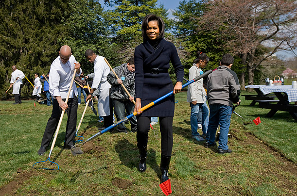 Harvest Season in the White House Garden