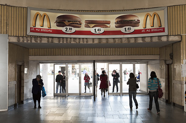 Signs of the Times  Of the Tbilisi subway system, photographer Martin Parr writes,