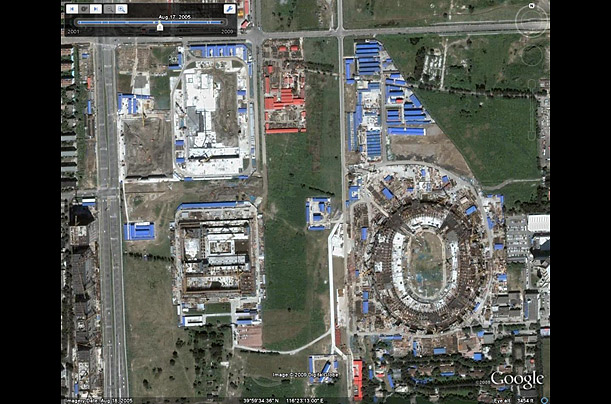 Google Earth Adds Historical Imagery