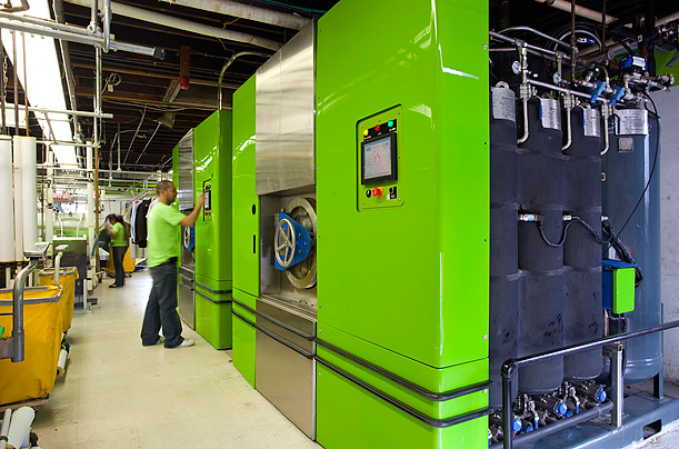 A Green Alternative to Dry Cleaning