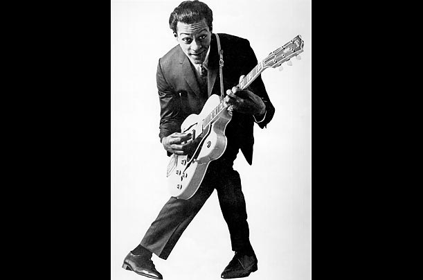 how to play johnny b goode on electric guitar