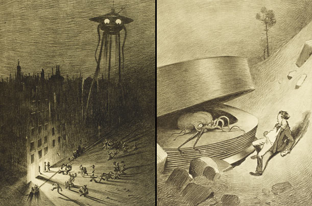 war of the worlds essays hg wells War of the worlds radio broadcast present orson welles and the mercury theatre on the air in the war of the worlds by h g wells in world war i and.