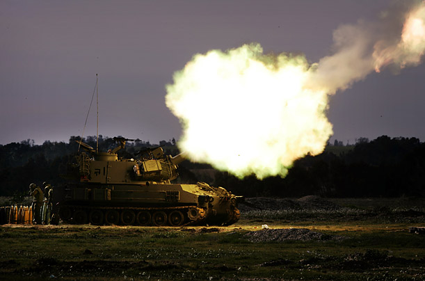 Israel Invades Gaza IDF tanks and infantry launch a ground offensive in the Palestinian Enclave