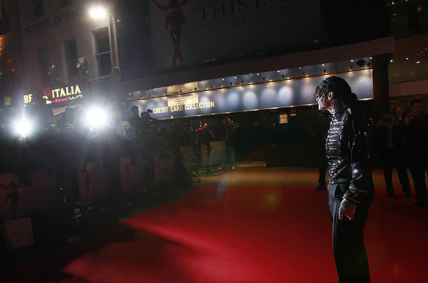 michael jackson world premier of This Is It.