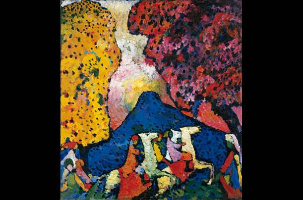 Blue Mountain, 1908-09 