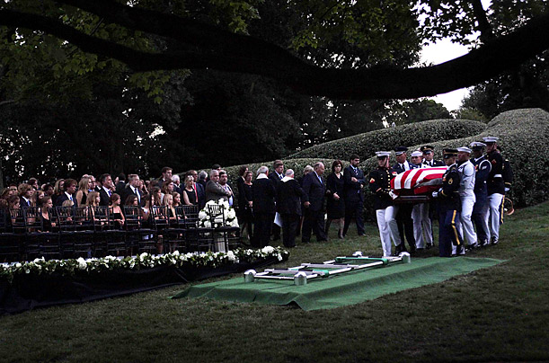 ted kennedy funeral. Mourning Ted Kennedy