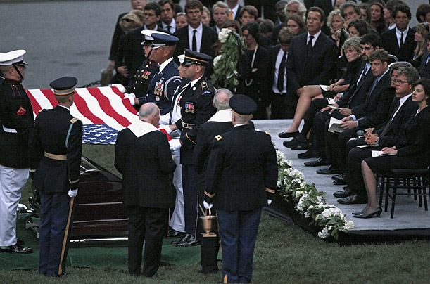 ted kennedy young. Mourning Ted Kennedy