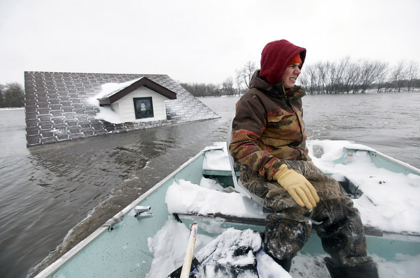 The Midwest Battles Flooding   Recent storms have brought water levels to a crisis point in the heartland