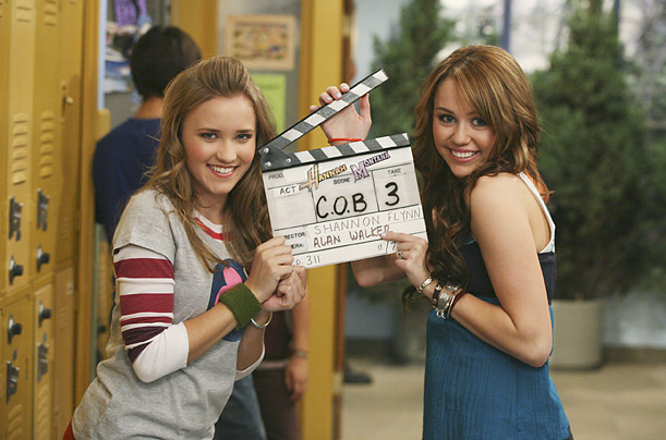 Cyrus almost immediately became a sensation after the debut of <span style='font-style: italic'>Hannah Montana</span> in 2006. The humor of the show trades on Miley's conviction that she must conceal her pop star identity from the kids at her school.