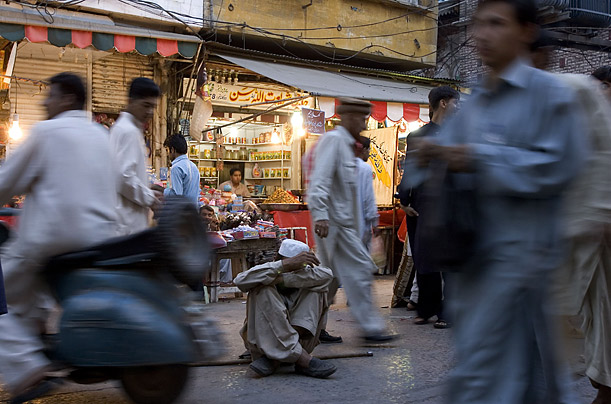 Hungry for riches, Qasab ended up in Rawalpindi's Raja Bazaar.