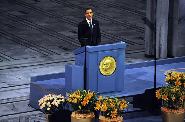 obama accepts the nobel peace prize photo essays time obama accepts the nobel peace prize