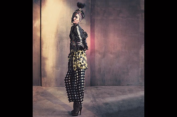 style and design african africa inspired fashion Chad Pitman Katie Mossman