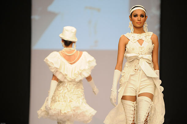 Models Hit the Runway